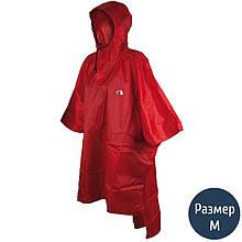Дощовик-пончо Tatonka Poncho (р. M-L), червоний 2800.015