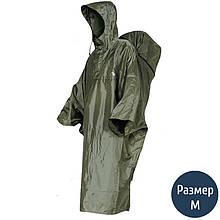 Дощовик-пончо з відділенням для рюкзака Tatonka Cape Men (р. M), хакі 2796.036