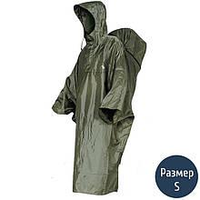 Дощовик-пончо з відділенням для рюкзака Tatonka Cape Men (р. S), хакі 2795.036