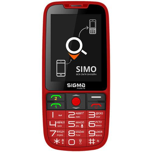 SIGMA Comfort 50 Elegance3 SIMO ASSISTANT Red