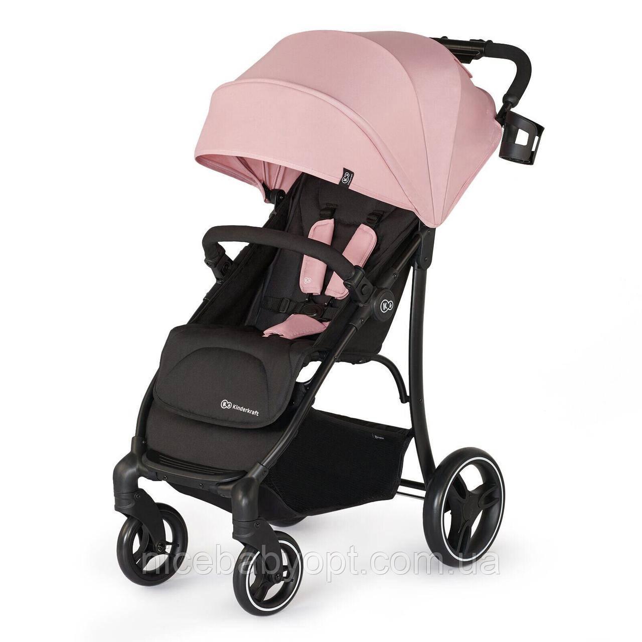 Прогулочная коляска Kinderkraft Trig Pink