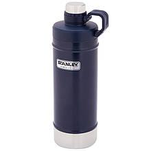 Термобутылка Stanley Classic (0.62л), темно-синяя
