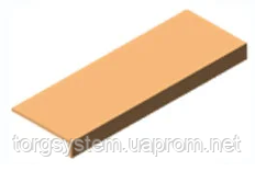 Подиум из МДФ L=900мм, W=390ммдля экономпанели