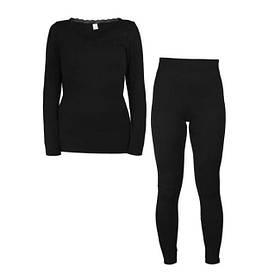 Жіноча термобілизна Supretto Ніжні обійми One Size Чорний КОД: 56560001