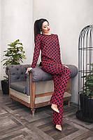 Жіночий стильний брючний костюм-двійка, фото 1