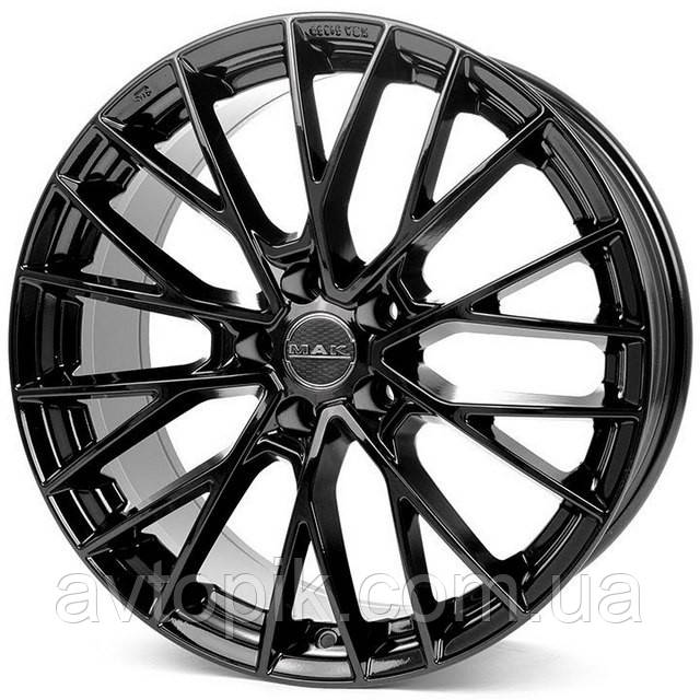 Литые диски Mak Speciale R23 W10 PCD5x108 ET37 DIA63.4 (gloss black)