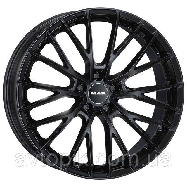 Литые диски Mak Speciale R23 W11.5 PCD5x130 ET52 DIA71.6 (black mirror)