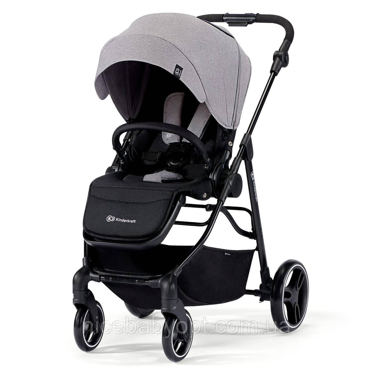 Прогулянкова коляска Kinderkraft Vesto Grey