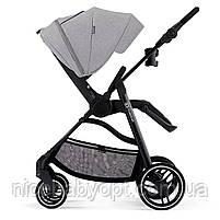 Прогулянкова коляска Kinderkraft Vesto Grey, фото 4