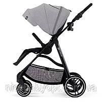 Прогулянкова коляска Kinderkraft Vesto Grey, фото 5