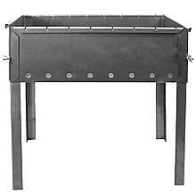Мангал для шашликів (8-місний), нержавіюча сталь