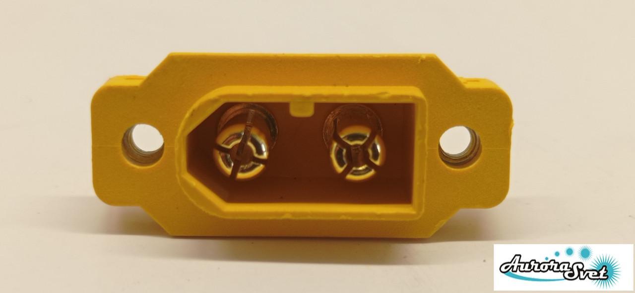 Гніздо живлення для дрона/ 3D принтера / скутера / електро самоката / велосипеда 2-х контактний 30 А .коптер