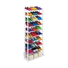 Органайзер-стійка Amazing Shoe Rack для взуття Білий КОД: 4961