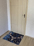 """Коврик для прихожей и коридора """"Соты"""" (85*70) темные, фото 2"""