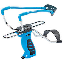 Рогатка с упором Man Kung SL06BL, синяя