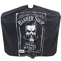 Накидка перукарська TICO Professional Barber (700011)