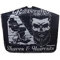 Накидка перукарська TICO Professional Barber (700012)