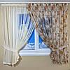 Красивая кухонная занавеска и шторы для кухни, фото 2