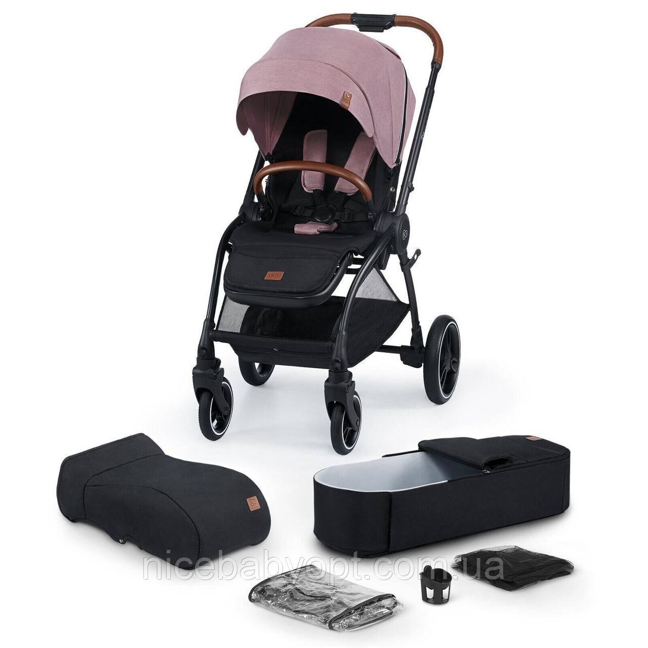 Універсальна коляска 2 в 1 Kinderkraft Evolution Cocoon Marvelous Pink