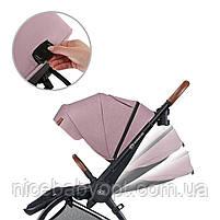 Універсальна коляска 2 в 1 Kinderkraft Evolution Cocoon Marvelous Pink, фото 6