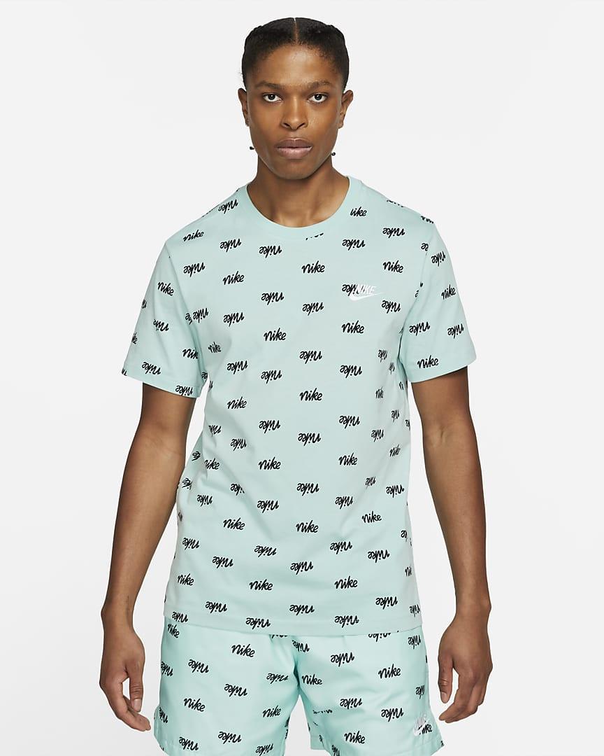 Футболка мужская Nike Sportswear DA0514-382 Голубой