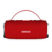 Портативная Bluetooth колонка Hopestar H36 Red
