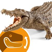 Schleich 14736 Фигурка Крокодил Wild Life Crocodile Figure