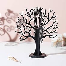 Подставка вешалка для украшений Дерево