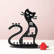 Подставка вешалка для украшений Котик