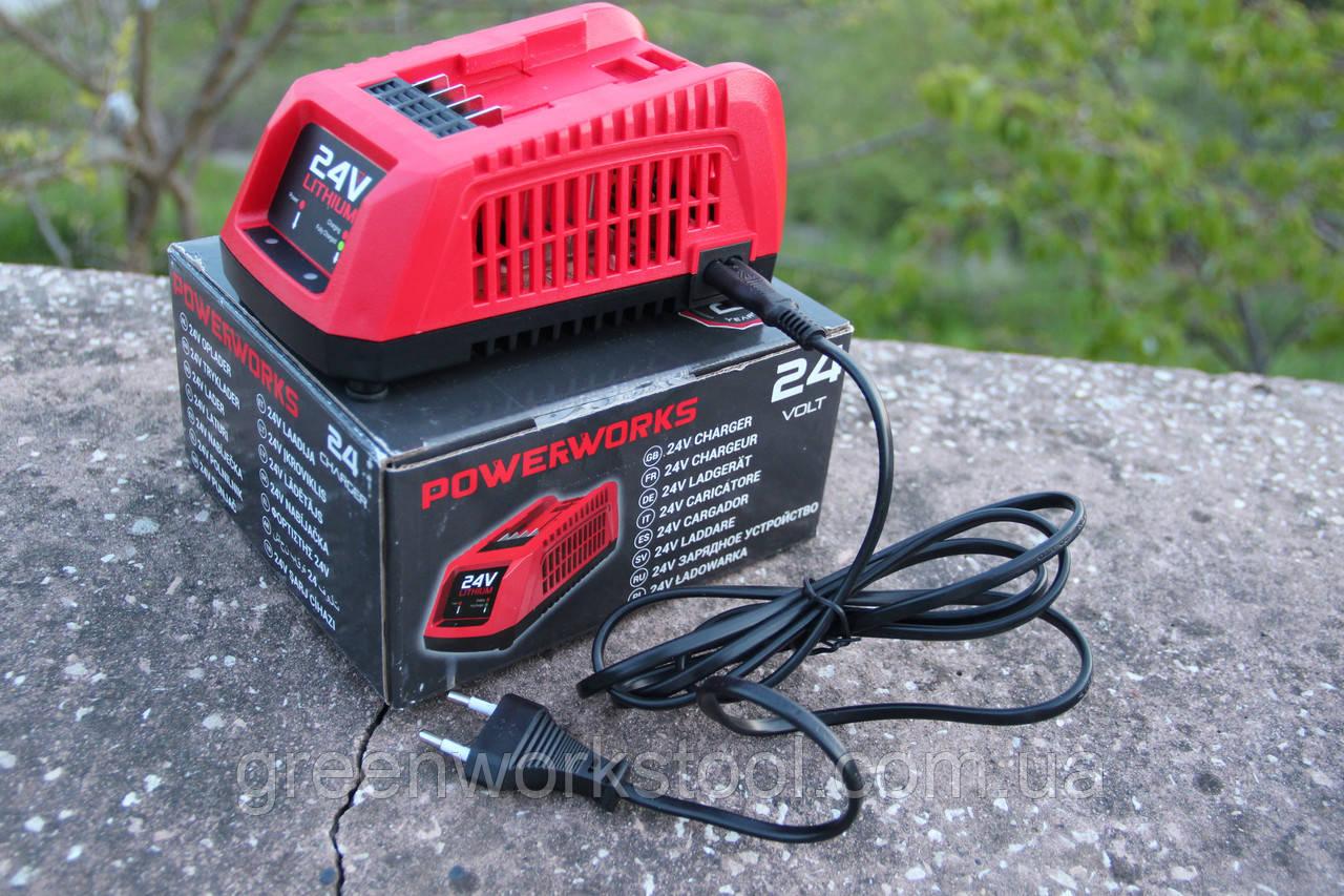 Универсальное зарядное устройство PowerWorks P24UC 24 V  / Greenworks G24C/G24UC 24 V