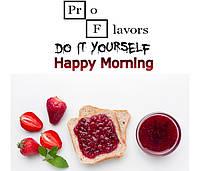 Набор для замеса жидкости Pro Flavors Happy Morning 100 мл.