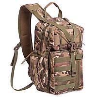 Рюкзак тактичний військовий патрульний SILVER KNIGHT 30 л Нейлон Оксфорд 900D Камуфляж (TY-5386)
