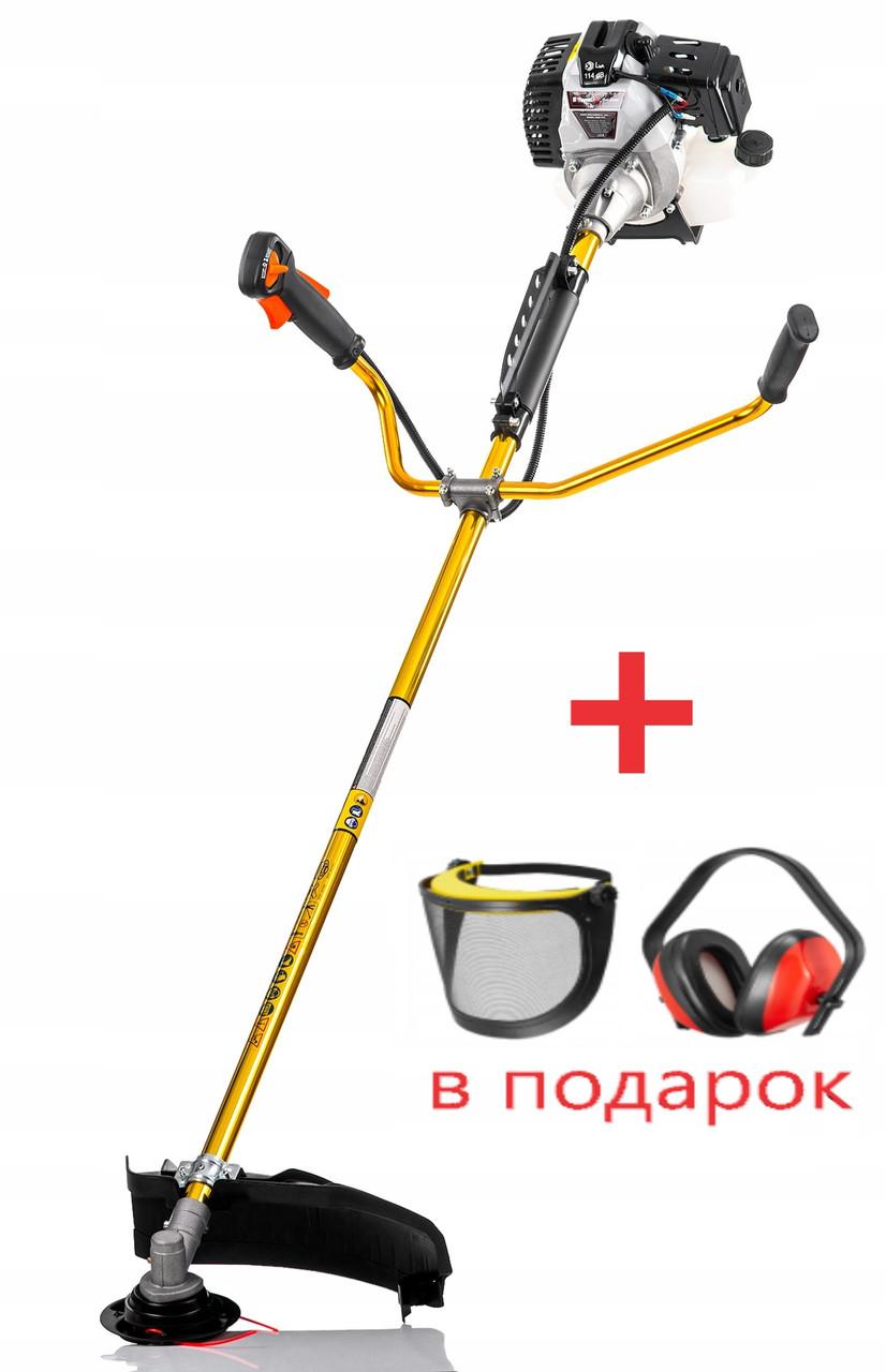 Бензокосілка BÄUMR-AG ТРИМЕР КОСАРКА + навушники і захисна маска в подарунок