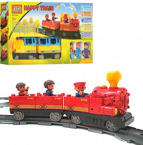 Залізниця - конструктор (Jixin 6188D)
