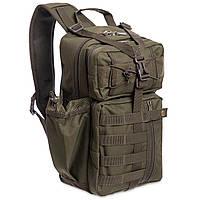 Рюкзак тактичний військовий патрульний SILVER KNIGHT 30 л Нейлон Оксфорд 900D Оливковий (TY-5386)