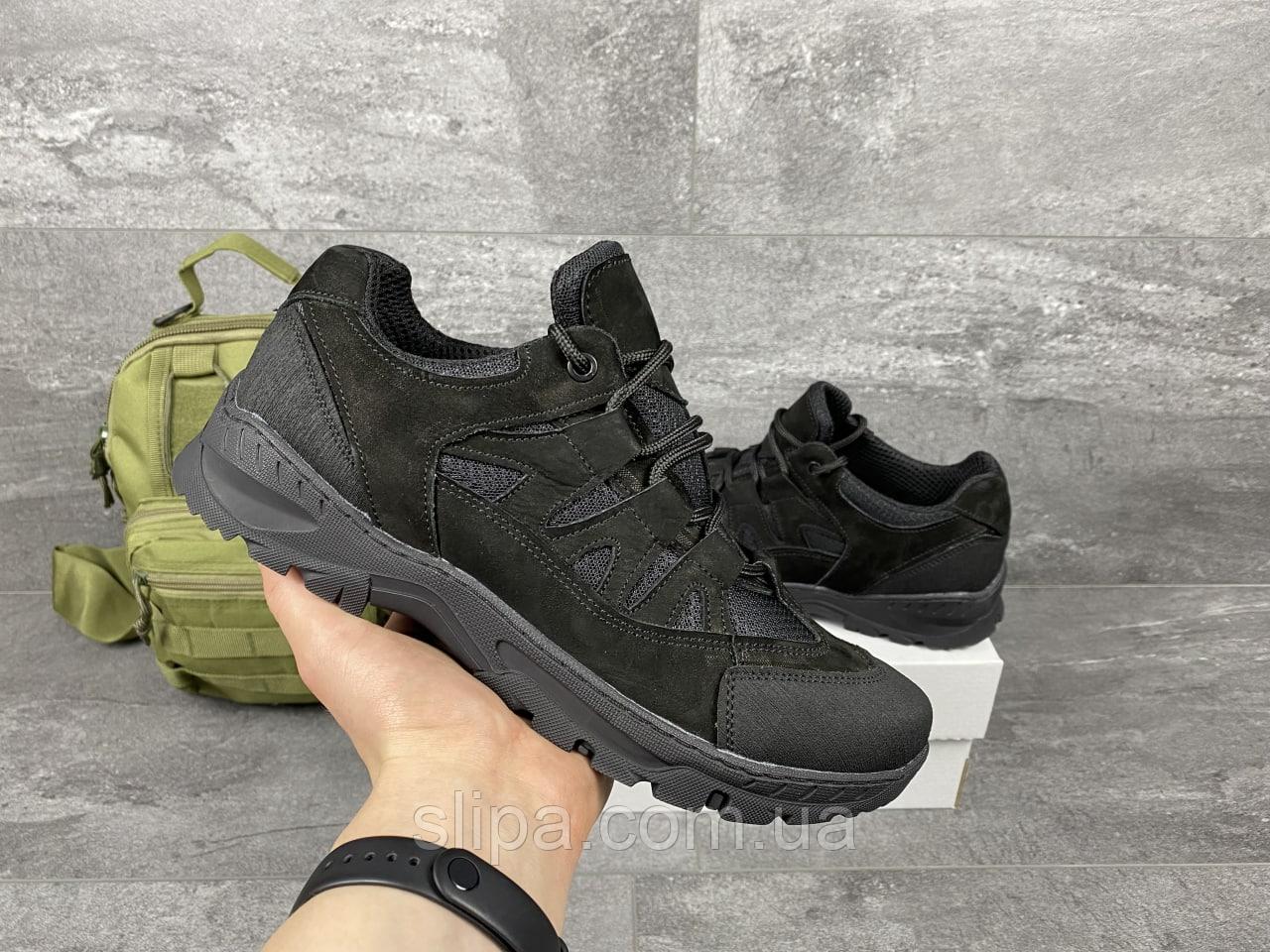 Коричневые тактические кроссовки с сеткой | Украина | натуральная кожа/сетка + полиуретан | прошиты