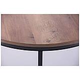 Журнальний стіл COLORADO-1 чорна, дуб шервуд, фото 5