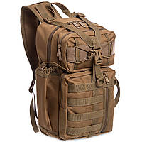 Рюкзак тактичний військовий патрульний SILVER KNIGHT 30 л Нейлон Оксфорд 900D Хакі (TY-5386)