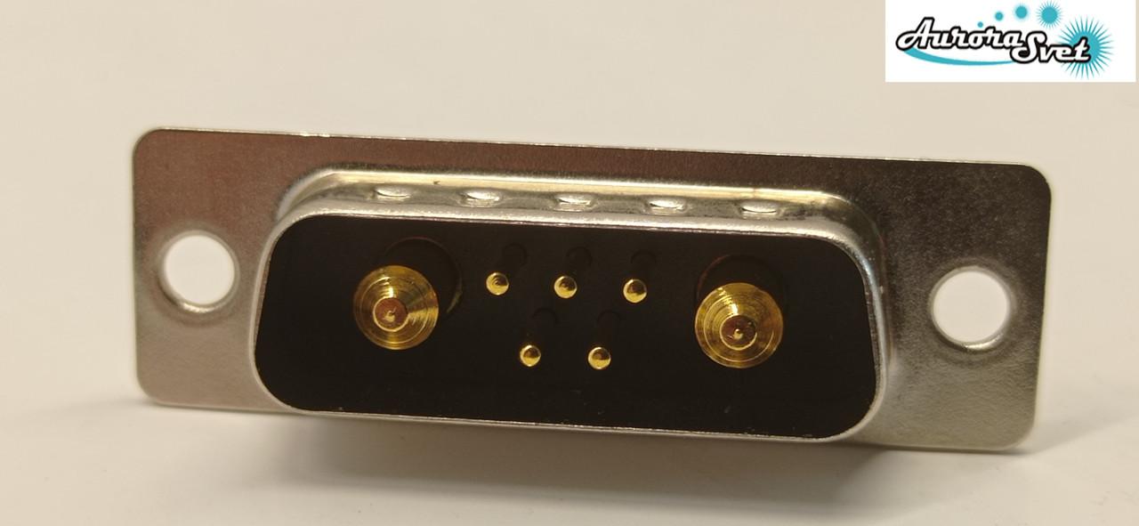 Гнездо питания для дрона/ 3D принтера / скутера / электро самоката / велосипеда  7-ми контактный 30 А .(папа)