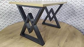Стол обеденный Астон каркас черный бархат, столешница ДСП Вествуд 1200*750 мм (Металл дизайн)