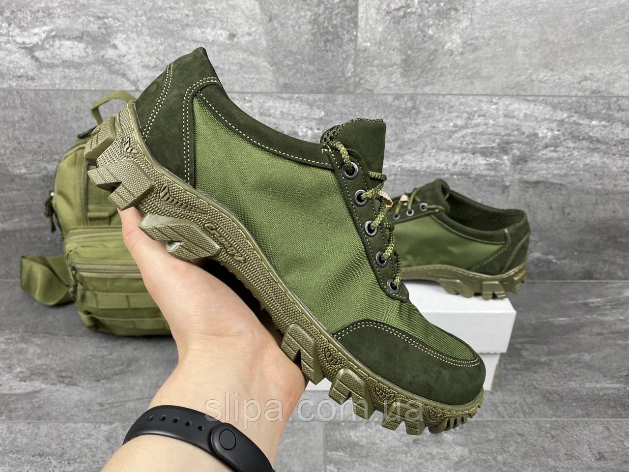 Тактические кроссовки Кайман олива | Украина | нейлон + полиуретан | прошиты