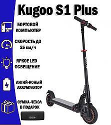 Электросамокат Kugoo S1 Plus Jilong Черный + Подарок