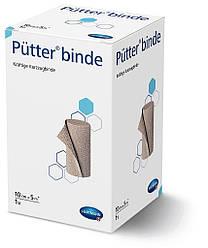 Putter binde/Пюттер биндэ - прочный бинт короткой растяжимости, 10см х 5м 1шт