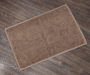 Полотенце-коврик для ног AE Vip Roza Коричневый