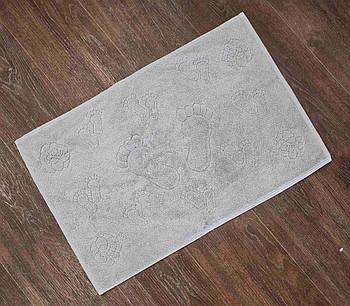Полотенце-коврик для ног AE Vip Roza Серый