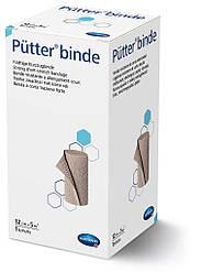 Putter binde/Пюттер биндэ - прочный бинт короткой растяжимости, 12см х 5м 1шт