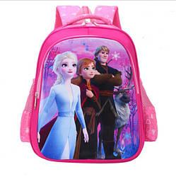 Школьный рюкзак Эльза, Анна, Кристофф для девочки 1-4 класс