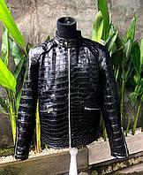 Мужская куртка из кожи крокодила под заказ