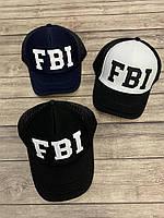 """Кепка-тракер, на хлопчика, FBI р-ри 54-55см (3ол) """"SCARLETT"""" купити недорого від прямого постачальника"""