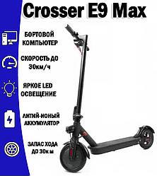 Электросамокат Crosser E9 Max10 дюймов / Black